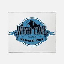 wind cave 3 Throw Blanket