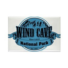 wind cave 2 Rectangle Magnet