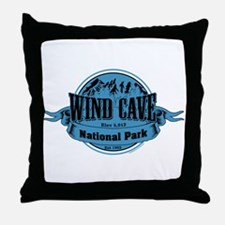 wind cave 2 Throw Pillow