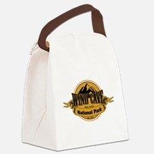 wind cave 4 Canvas Lunch Bag