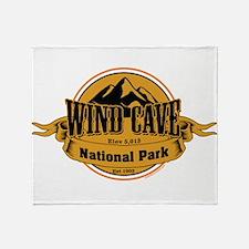 wind cave 4 Throw Blanket