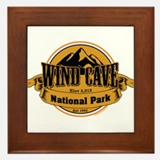 wind cave 4 Framed Tile