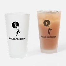 Pole Dancing Drinking Glass