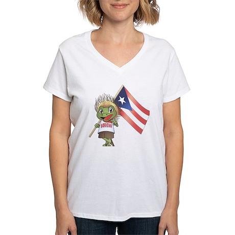 Boricua Ash Grey T-Shirt