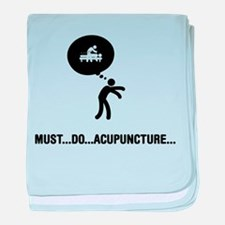 Acupuncture baby blanket