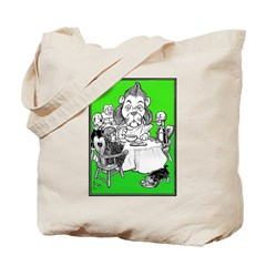 At the Dinner Table Tote Bag