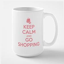 Keep Calm and Go Shopping Mug
