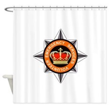 Emergency Service Volunteers Shower Curtain