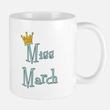 Miss March Small Small Mug