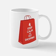 Keep calm and go shopping (bag2) Mug