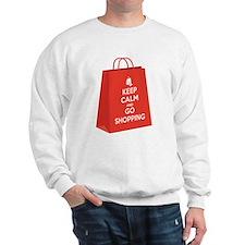 Keep calm and go shopping (bag2) Sweatshirt