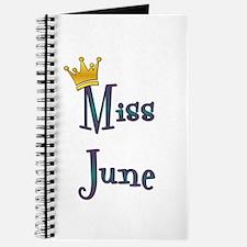 Miss June Journal