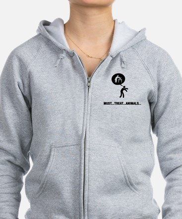 Veterinarian Zipped Hoody