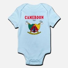 Cameroon Coat Of Arms Designs Infant Bodysuit