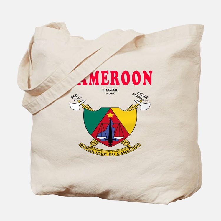 Cameroon Coat Of Arms Designs Tote Bag