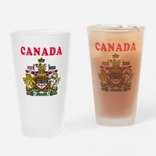 Canada Coat Of Arms Designs Drinking Glass
