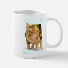 Messy micro pig Small Mug