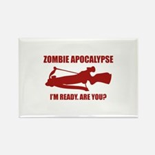 Zombie Apocalypse. I'm Ready. Are You? Rectangle M