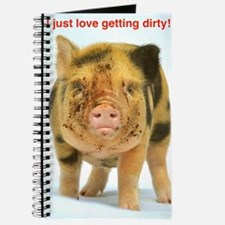 I just love getting dirty! Journal