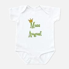 Miss August Infant Bodysuit
