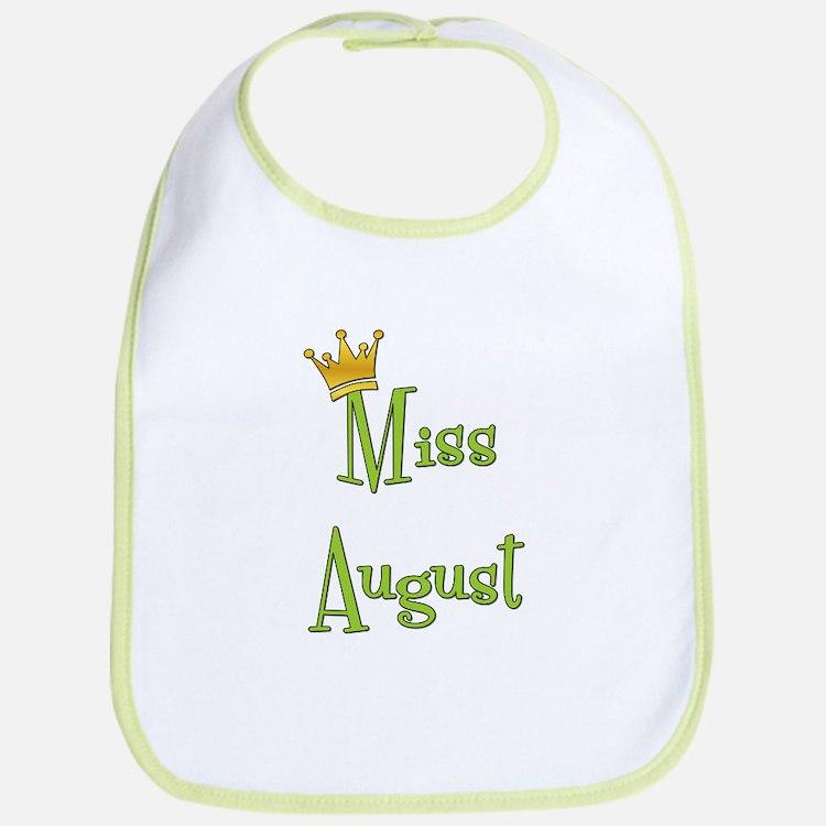 Miss August Bib