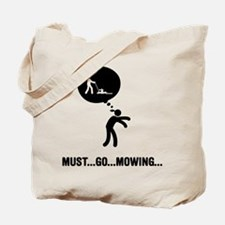 Lawn Mowing Tote Bag