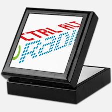 Ctrl Alt Radio Main Logo Keepsake Box