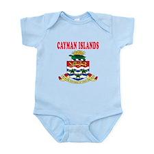 Cayman Islands Coat Of Arms Designs Infant Bodysui