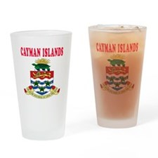 Cayman Islands Coat Of Arms Designs Drinking Glass