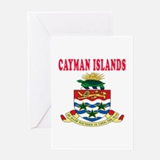 Cayman Islands Coat Of Arms Designs Greeting Card