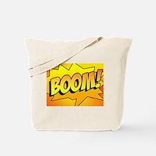 BOOM Comic Sound Effects Tote Bag