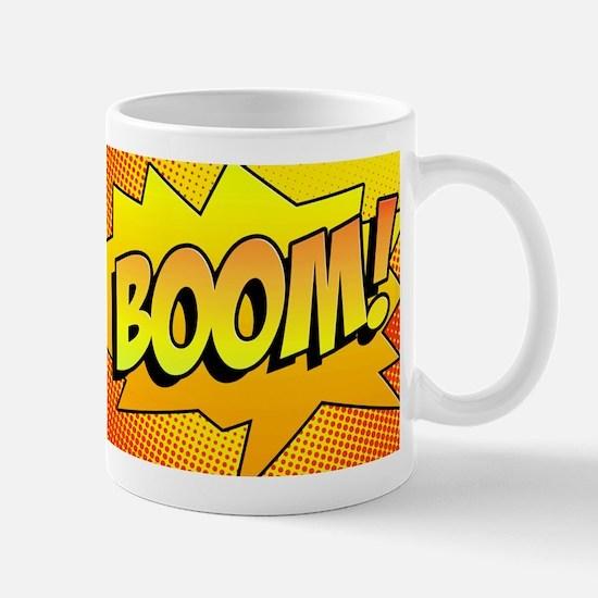 BOOM Comic Sound Effects Mug