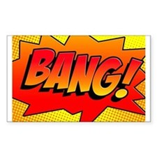 BANG Comic Sound Effect Decal