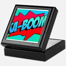 Ka-Boom Comic Sound Effect Keepsake Box