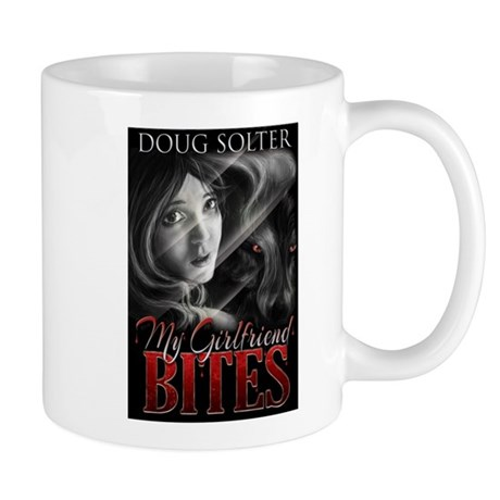 My Girlfriend Bites T-shirt Mug