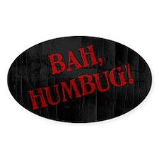 Bah Humbug Decal