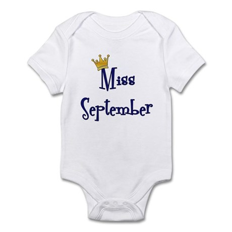 Miss September Infant Bodysuit
