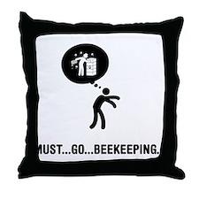 Beekeeper Throw Pillow