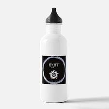 "Supernatural ""Idjit"" badge Water Bottle"