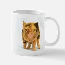 Micro pig looking messy Small Mug