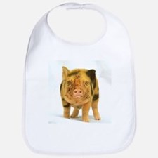 Micro pig looking messy Bib