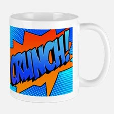 CRUNCH Comic Sound Effect Mug