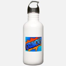 CRUNCH Comic Sound Effect Water Bottle