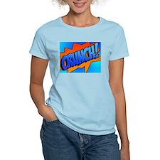 CRUNCH Comic Sound Effect T-Shirt