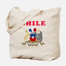 Chile Coat Of Arms Designs Tote Bag