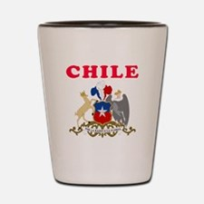 Chile Coat Of Arms Designs Shot Glass