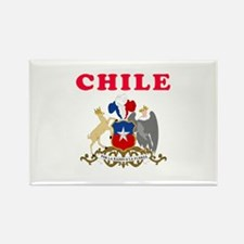Chile Coat Of Arms Designs Rectangle Magnet