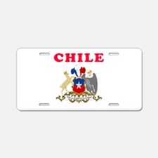 Chile Coat Of Arms Designs Aluminum License Plate