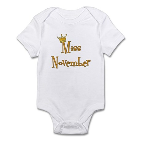 Miss November Infant Bodysuit