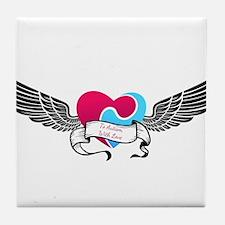 Puzzle Heart Tile Coaster